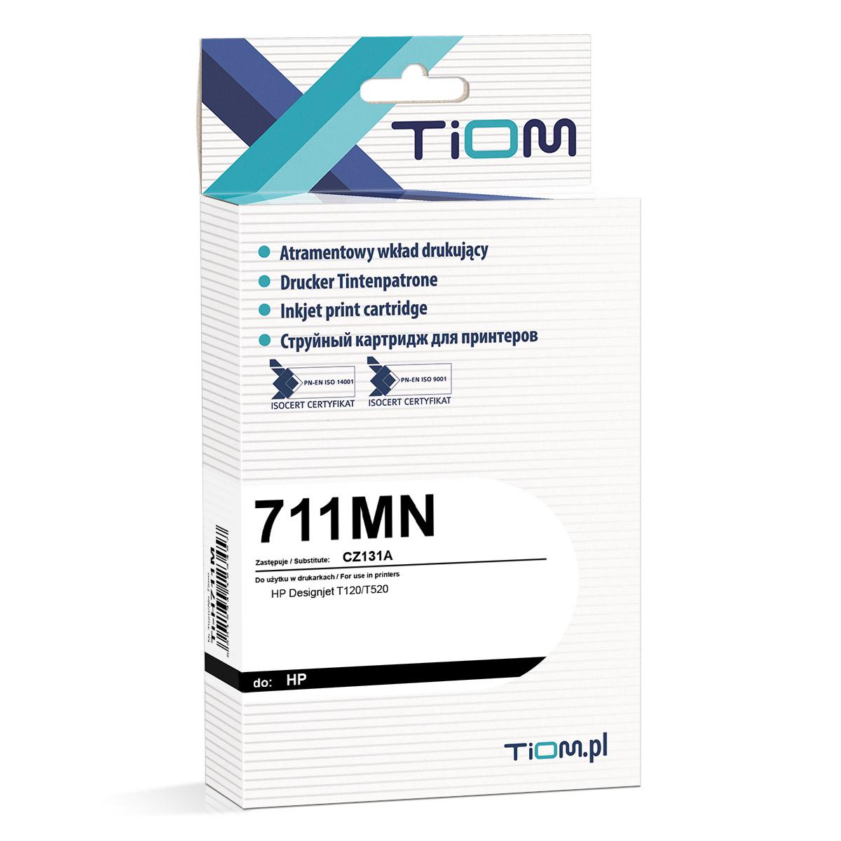 Ti-H711M Tusz Tiom do HP 711MN   CZ131A   29 ml   magenta