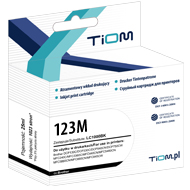 Ti-B123M Tusz Tiom do Brother LC123 | DCP-J132/MFC-J4410DW | magenta