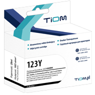 Ti-B123Y Tusz Tiom do Brother LC123 | DCP-J132/MFC-J4410DW | yellow