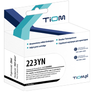 Ti-B223YN Tusz Tiom do Brother 223YN | LC223Y | 550 str. | yellow