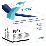 Ti-B985Y Tusz Tiom do Brother LC985 | DCP-J125/MFC-J415W | yellow