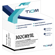 Ti-H302CMYXL Tusz Tiom do HP 302CMYXL | F6U67AE | 330 str. | color